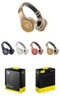 складные сотовые телефоны оптовых-Bluetooth наушники S55 высокое качество сотовый телефон беспроводные наушники складная Bluetooth-гарнитура с розничной упаковке для iphone Smasung