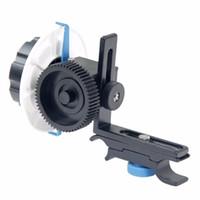 следить за фокусировкой оптовых-Оптовая YLG0103F следовать фокус F0 с регулируемым зубчатым ремнем кольцо для Canon / Nikon / видеокамеры / зеркальные камеры