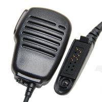 Wholesale two way radios microphone - Rainproof Shoulder Remote Speaker Mic Microphone PTT For Motorola GP328 GP338 GP340 GP360 GP380 GP640 GP680 GP1280 Two Way Radio