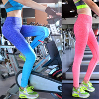 Wholesale breathable yoga pants for sale - New products dyed yoga legging skinny pants fitness pants pants high elastic body breathable dry pants home clothing