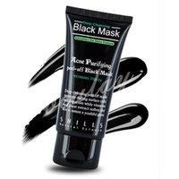 shills máscara de limpieza profunda al por mayor-SHILLS Black Mask Facial Deep Cleansing Purificante exfoliante mascarilla 50ml Blackhead Eliminar máscaras de succión