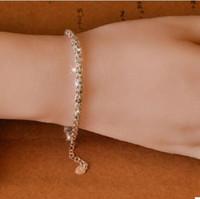 99 silber großhandel-Luxusschmucksachen 99 reine silberne deisgner Armbänder für Frauen ombre Formgeschenk zur Geliebten heißen Art und Weise frei von Verschiffen