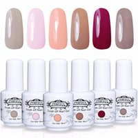 uv лак идеальное лето оптовых-Perfect Summer Gel Nail Polish LED UV Soak off Nail Gel Polish Long Lasting 6 Piece 8ml Varnish