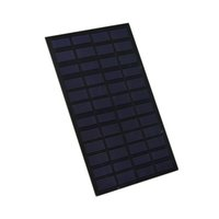 Wholesale Solar System Wholesalers - 100Pcs Lot 2.5W 12V 200mm*120mm PET Laminated Solar Cell Monocrystalline Solar Cell Panel for DIY and Solar System DHL Shipping