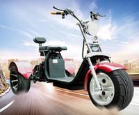 tricycles de scooters électriques achat en gros de-Nouveau 60V Électrique ATV Mountain Buggy Vitesse UTV Tricycle Moto Électrique Petit Sport Scooter
