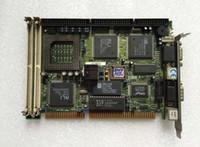 ingrosso schede madri per schede industriali-Scheda madre industriale SSC-5X86HVGA REV: 1.8 Scheda principale PCB Scheda tecnica ISA Half-size 100% Testato Pozzetto di lavoro