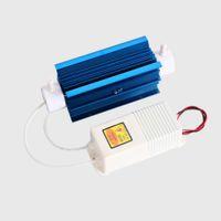 röhrengenerator großhandel-Silikaschlauch-Ozon-Generator 10g 7g 5g 3g mit Aluminiumlegierungs-Kühlkörper für Wasser-Sterilisierung und Luft-Desodorierung + freies Verschiffen