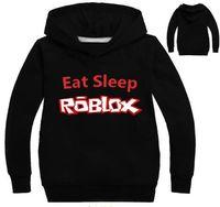 t-shirts pour bébé achat en gros de-plus récent Roblox Shirt Pour Les Garçons Sweat Rouge Noze Jour Costume Enfants Sport Shirts Pour Enfants Hoodies survêtements bébé T-shirts Tops