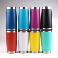 Wholesale 20 oz Large Capacity Cups stainless steel tumblers Insulated Sports water bottle Metal wide mouth coffee Mugs with Lid