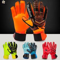 Wholesale bamboo protection online - Shinestone Professional Goalkeeper Gloves Finger Protection Thickened Latex Soccer Goalie Gloves Football Goalkeeper Gloves