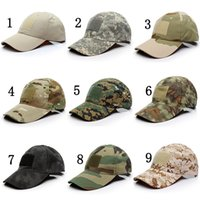 Wholesale hat military - Tactical Caps Sun Hat Outdoor Hunting Camping special forces Ghost Commando Tactic Hat Men Women Baseball Cap