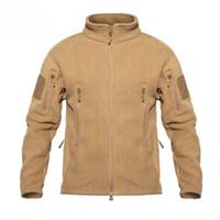 наружная спортивная одежда для охоты оптовых-Hunting Coats  Men Outdoor Sports Hoodie Sweater Tactical Clothes Inside Fleece Jackets Women Plus Size PAVEHAWK