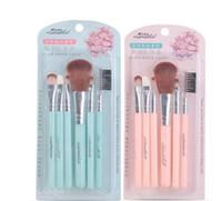 Wholesale Pc Basic - new multi-function makeup set refresh new hand basic cheek red brush eyelashes brush eyeshadows stick 6 pcs beauty makeup tools