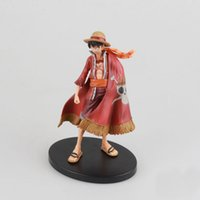 Wholesale luffy toys for sale - Group buy 17cm Anime One Piece Luffy Theatrical Edition Action Figure Juguetes One Piece Figures Collectible Model Toys Christmas Toy