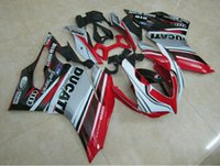 Wholesale Free gifts New Hot Injection ABS bike Fairings Kits Fitment For DUCATI Bodywork set good nice color