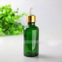 Wholesale best essentials oils for sale - Group buy hot sale Glass E Liquid Dropper Bottles ml Green Glass Essential Oil bottles Best Selling ml Glass Container Pack
