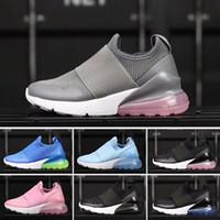 super popular 71e16 a1bbf vente en gros 2018 Nike air max 27c infantile 270 Nike air max 27c enfants  chaussures de course noir blanc poussiéreux cactus 27c bambin en plein air  ...