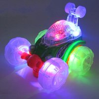 Wholesale electric cars models resale online - Children Stunt Electric Toy Car Funny Luminescence Music Model Toys Best Sellers Force Control Puzzle Popular Games jh W