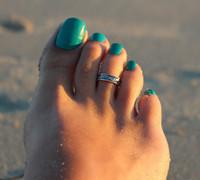 antike silberne offene ringe großhandel-Frauen Charming Fashion Sexy Lady Elegante Öffnung Einstellbare Antike Silber Metall Zehenring Fuß Strand Schmuck