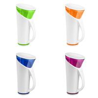 ingrosso tazza di acqua magica-Colorful Magic Cups Touch e Sound Sensitive Temperatura dell'acqua Display Time Promemoria Smart Cup Intelligent Induction Waters Bottle 49tc C