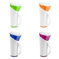 Wholesale warmer display - Colourful Magic Cups Touch And Sound Sensitive Water Temperature Display Time Reminder Smart Cup Intelligent Induction Waters Bottle 49tc C