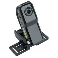 videograbadora portátil de bolsillo al por mayor-WiFi Mini cámara Mini DV Cámara de red inalámbrica Seguridad portátil Videocámara de sobremesa Grabador de vídeo Mini DVS de bolsillo DVR NUEVO MD81 MD81S