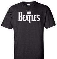 camisetas de los beatles al por mayor-camiseta de los beatles
