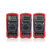 Wholesale ranging multimeter resale online - UNIT UT51 UT52 UT53 UT54 UT55 UT56 Digital Multimeter True RMS Professional Manual Range Counts AC DC Voltmeter