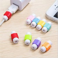 Wholesale saver charger for sale - Cute USB Cable Protective Sleeve Saver For Iphone Samsung Android Phone Data Charger line Protector Earphone Protection Wire Cover
