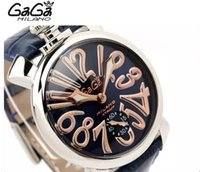 Wholesale watch gaga - Act as purchasing agency gaga, gaga big dial neutral stereoscopic word semi-automatic mechanical watches for men and women fashion trends