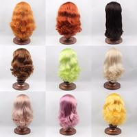 ingrosso parrucche delle bambole del sesso-parrucca sesso RBL Blyth Doll Parrucche per il cuoio capelluto Inclusa la serie hard endoconch12 Factory Blyth