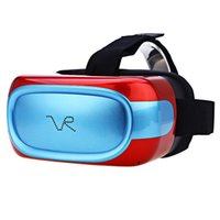 auricular 5.1 al por mayor-ALBK VR04 720P HD Immerse Virtual Reality Headset 3D Glass todo en uno VR Glass Andriod 5.1 Quad Core 1G RAM 8G ROM