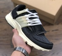 Wholesale 2018 New Mens Fashiong Running Shoes Black White Presto Sport Sneakers Outdoor Casual Jogging Shoe Top Quality with box