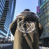 Wholesale korean men fur coat - 2018 Parkas Jacket Hooded Male Tops Men Clothes Coat Fashion Winter Men Fur Collar Outwear Jackets and Coats Korean Casual ZT278