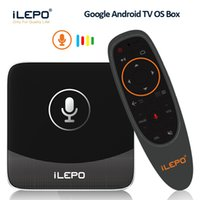 Wholesale hot movies for sale - Google Voice Control Android Box ilepo i18 S905W TV Boxes Hot Android TV System Smart K Box Free Movies Streaming VS X96 Mini