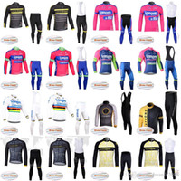 335dd18a8 LAMPRE LIVESTRONG Team Cycling Winter Thermal Fleece jersey (bib) pants  sets Bike Cycling Clothing Sports Suit E1512