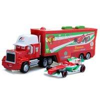 autos großhandel-Autos 2 Spielzeug 2 Stücke Blitz Autos 1:55 Diecast Metal Alloy Modle Figures Spielzeug Geschenke für Kinder