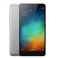 Wholesale redmi cellphones online - Refurbished Original Xiaomi Redmi Note Unlocked Cell Phone Hexa Core GB GB MP Inch G LTE