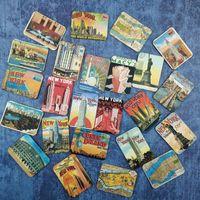 ingrosso artigianato di magnete-24 pezzi magnetici magneti frigo souvenir design magneti da frigorifero accessori decorazione della casa adesivo magnetico arti / mestieri