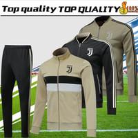 AAA+top quality 2018 2019 Juventus soccer jersey tracksuits 18 19 sweater  RONALDO HIGUAIN DYBALA MANDZUKIC football jacket chandal cd66174e1