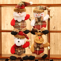 Wholesale Christmas home decor hanging ornaments dolls christmas tree decorations New year hanging decorations enfeites de natal