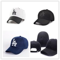 Wholesale basketball strapback - Hot Style New Brand Adjustable LA Baseball Caps Bone Strapback Bones Snapback Caps Casquette Gorras Basketball Hip Pop cap for Men Women