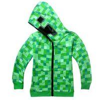 koreanische kinder mädchen wolle groihandel-Kinder Jacke Jungen Cool Plaid Hoodies Mäntel Frühlingsmode Kapuzenjacke Jacken Tier Muster Casual Mäntel Für Kleine Jungen