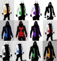 assassins creed conner kenway jacke großhandel-Assassins Creed 3 III Conner Kenway Hoodie Jacke Anime Cosplay Kleidung Carnaval Kostüme Für Jungen Kinder Erwachsene Männer Frauen Kleidung