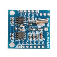 Wholesale arduino i2c modules resale online - OOTDTY Tiny RTC I2C C32 Memory DS1307 Clock RTC Module For Arduino New