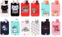 Wholesale iphone panda cases 3d for sale – best 3D Doll Unicorn Panda Owl Soft TPU Case For Iphone XR XS Max X Huawei Mate Lite Nova I P20 Pro Y3 Y5 Y7 Cat Dog Fox Cartoon Cover