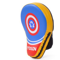 Wholesale pu pads for sale - Group buy 1Pcs Boxing Gloves Pads For Muay Thai Kick Fitness Supplies Mitt Mma Training Pu Foam Boxer Hand Target Pad Sandbag Punch Pads
