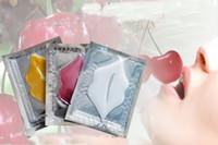 çin ücretsiz paketi toptan satış-2018 Yeni Nötr Ambalaj Kollajen Kristal Dudak Maskesi Biyonik Maske Nemlendirici Dudak Bakımı ücretsiz kargo çin'de yapılan