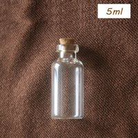 Wholesale mini message bottles resale online - Price ml ml ml ml ml ml Clear Glass Drifting Bottles with Wooden Cork Mini Message Storage Container