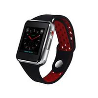 téléphones mobiles montre-bracelet achat en gros de-M3 montre-bracelet intelligente montre intelligente avec écran tactile de 1,54 pouces LCD pour Android montre Smart téléphone intelligent téléphone intelligent avec emballage de détail